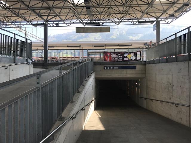 スイス・フルーティゲンの駅