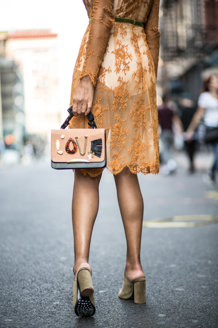 sheer dress trend, NYFW, taye hansberry, Fashion blogger, Sheer dress trend