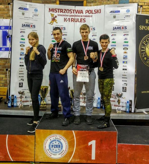 K-1, trening, kickboxing, muaythay, sport, Zielona Góra, Mistrzostwa, Legnica, 2017, Mistrzyni Polski, Ewa Boś
