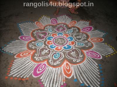 Shree Ganesh Rangolis
