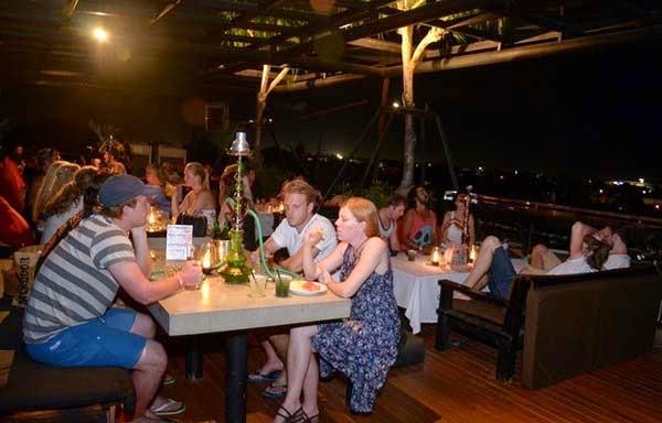 Sky Garden Rooftop Lounge Legian : Bali Nightlife