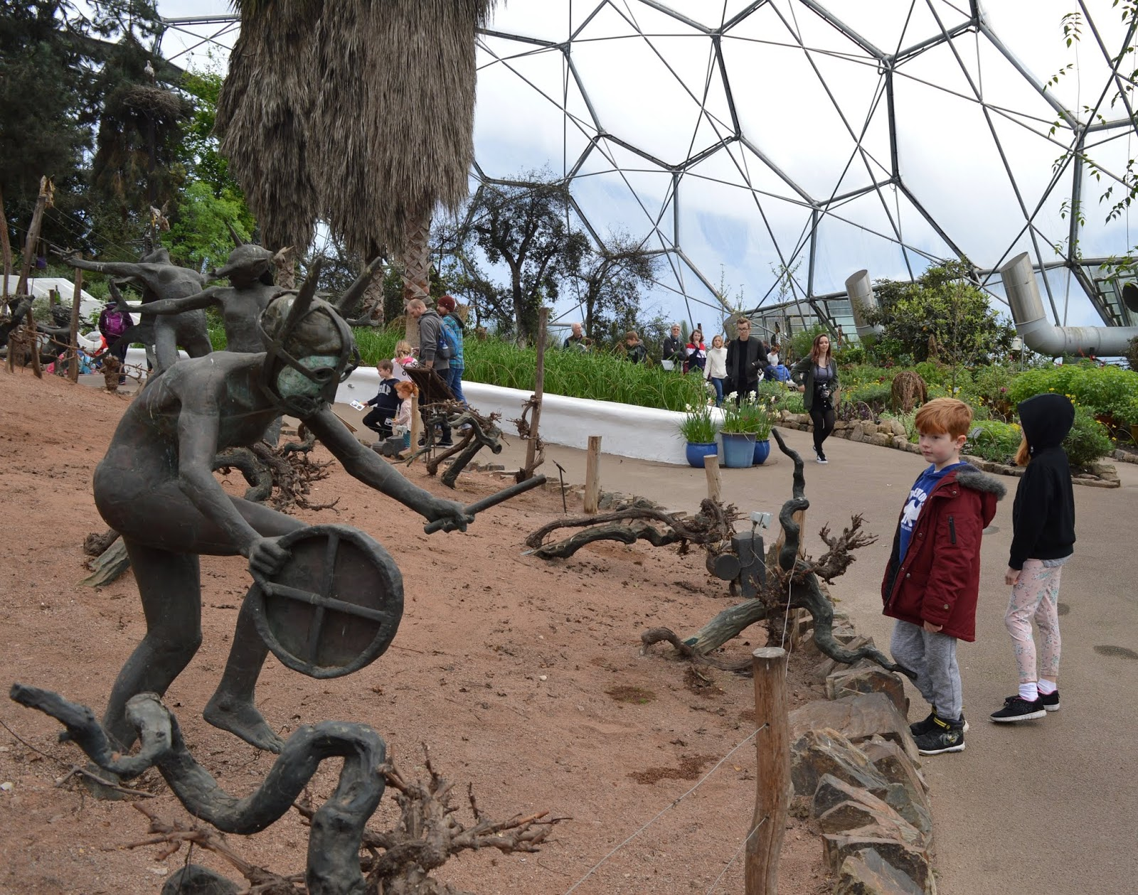 10 Reasons to Visit the Eden Project in Winter  - inside the Mediterranean biome