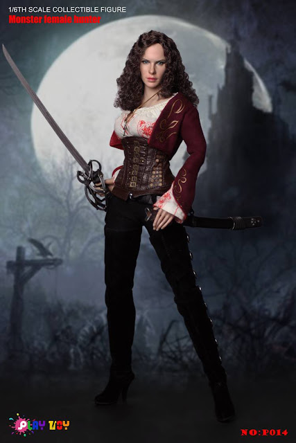 osw.zone Game Toy 1 / 6th Scale Monster Female Hunter 12 inch figure - Kate Beckinsale as Anna Valerious