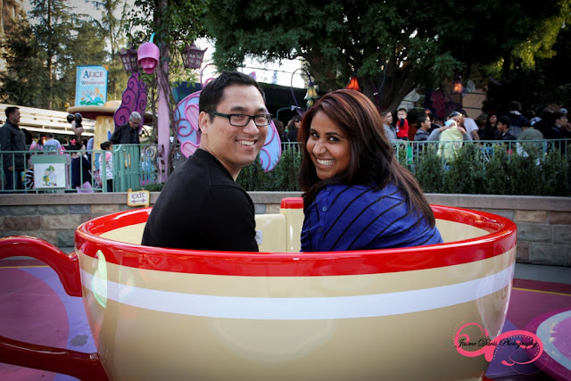 Disneyland Engagement Shoot - Mad Tea Party