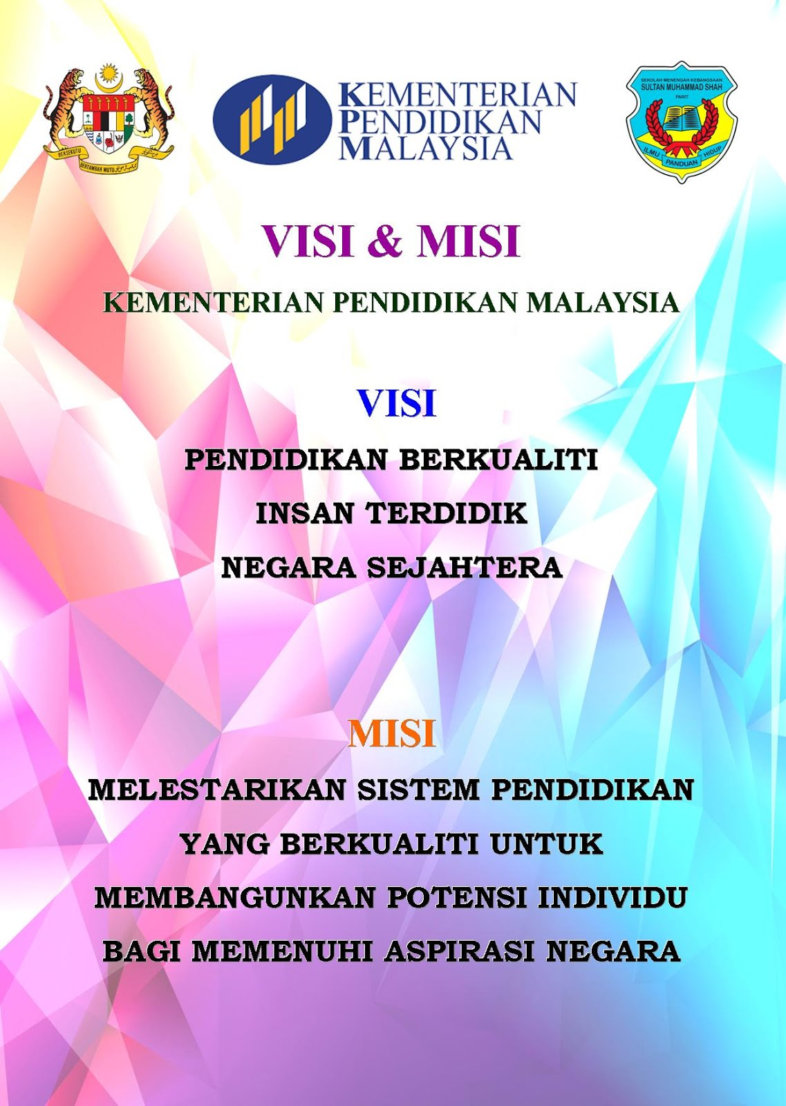 Kurikulum Dan Pertandingan Visi Misi Dan Falsafah Pendidikan Malaysia