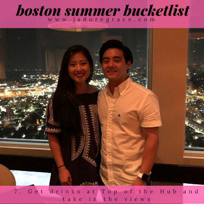 Jadoregrace.com / The Ultimate Boston Summer Bucketlist