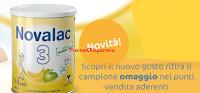 Logo Campioni omaggio e buoni sconto Novalac