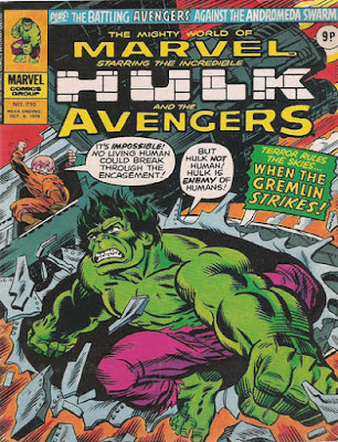 Mighty World of Marvel #210, Hulk vs the Gremlin
