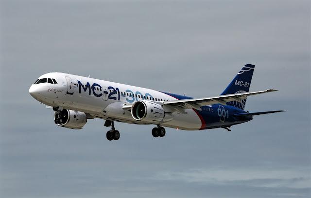 mc-21 maiden flight