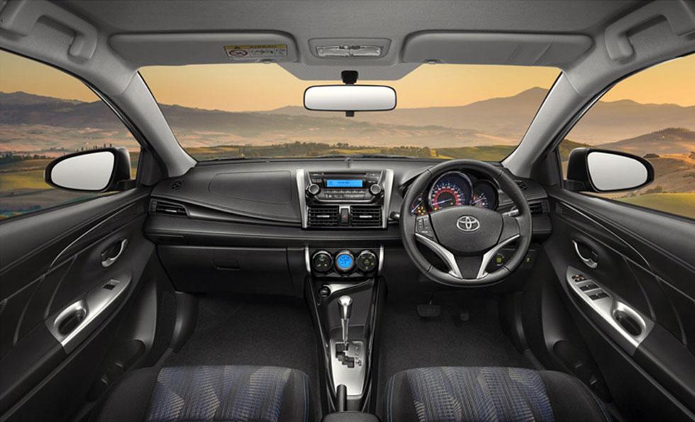2016 Toyota Vios Interior