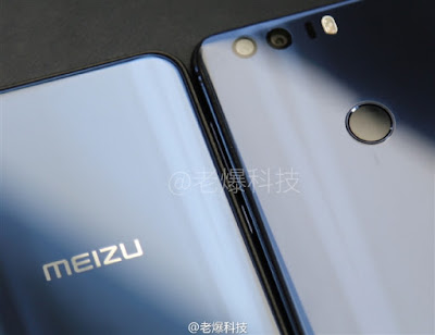 Meizu X Image 1 Front and Back View