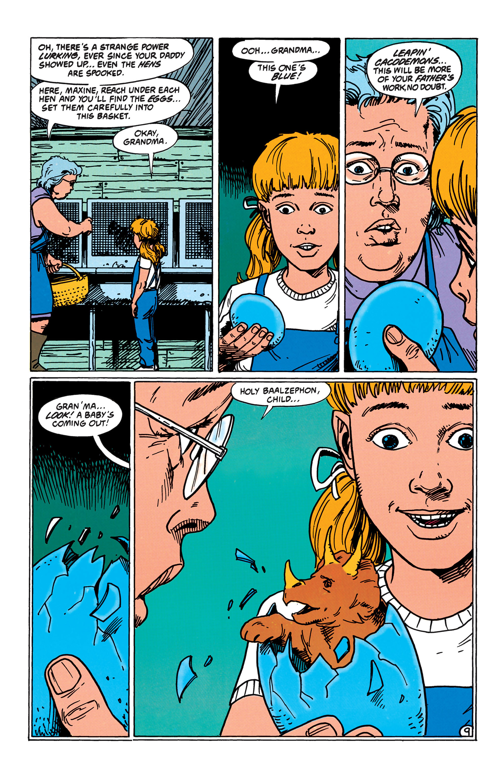 Read online Animal Man (1988) comic -  Issue #41 - 10