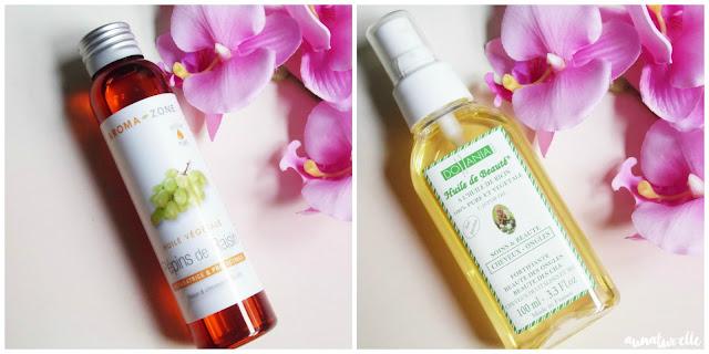 huiles végétales pour réaliser un shampoing solide