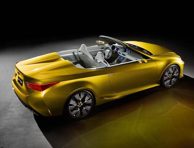 2016 Lexus LF-C2 Concept Release Date