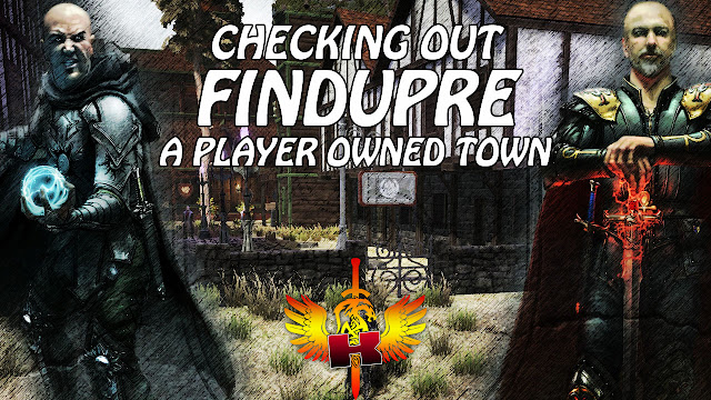 Checking Out Findupre, A Player Owned Town In Shroud of the Avatar