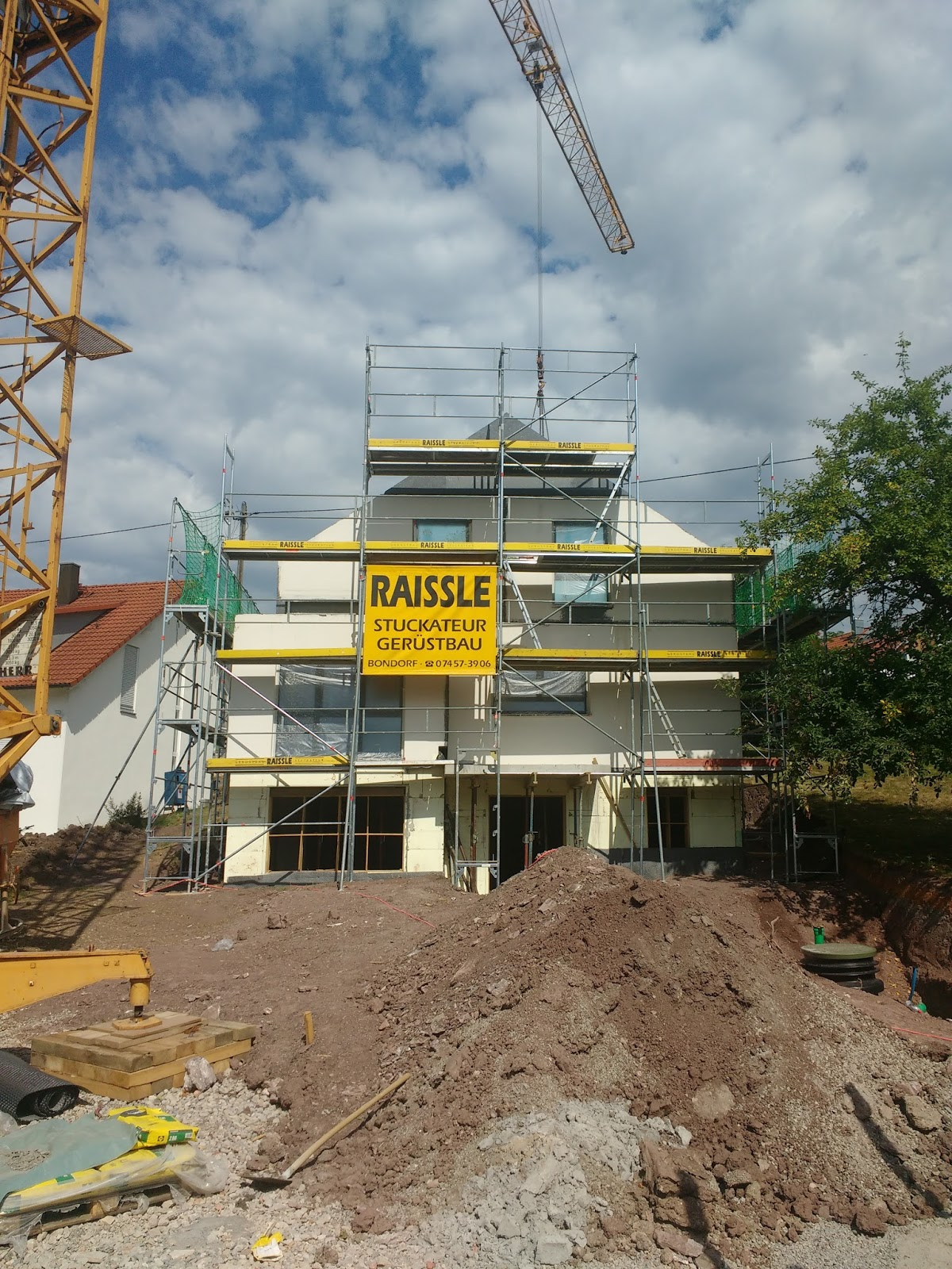 Hauser Massivhaus das haus steht wir bauen ein hauser massivhaus