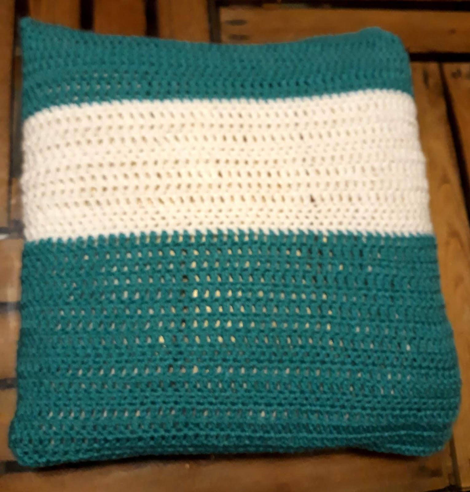 Lucy Und Rasselbande Testet Baby Decke Kissen Gehäkelt