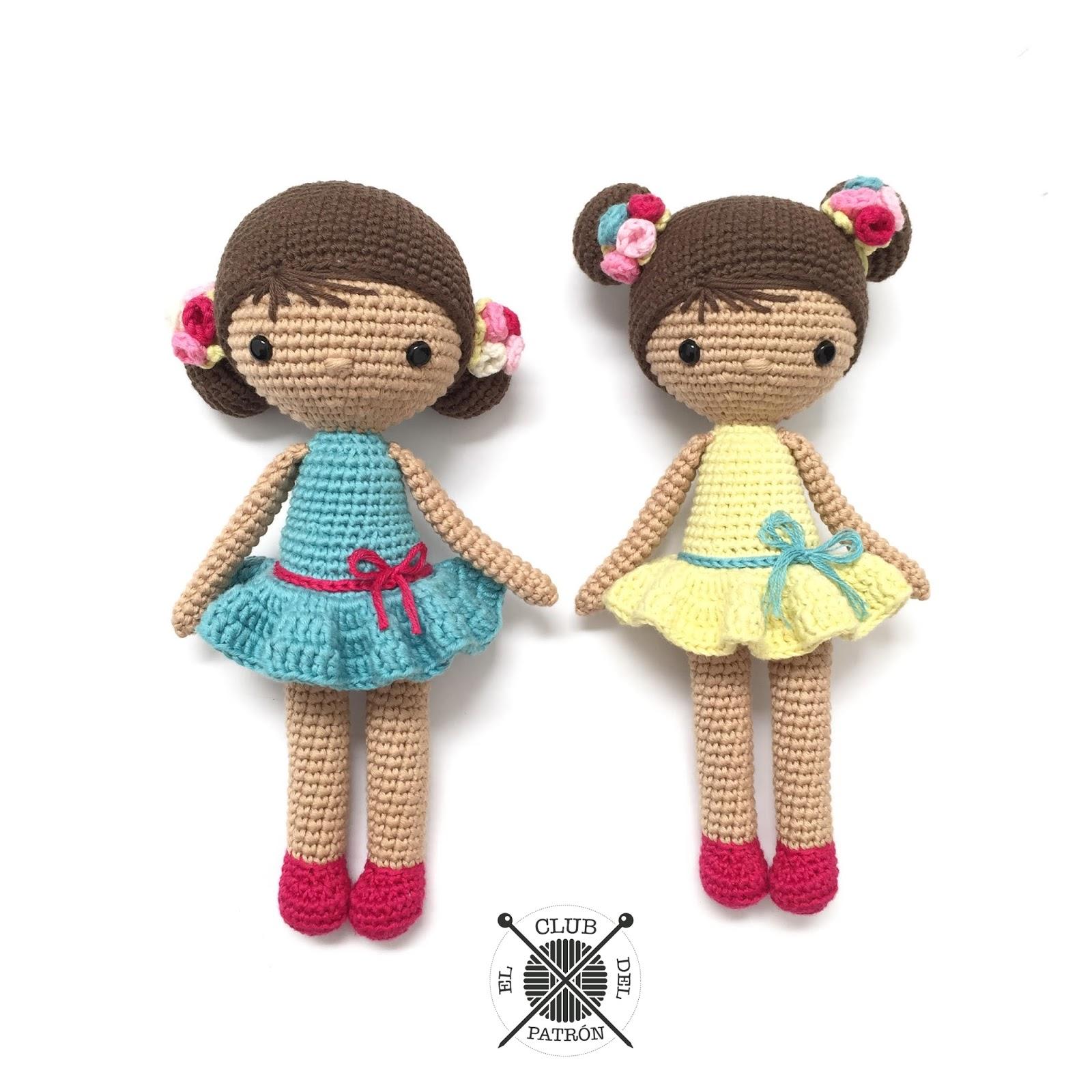 El blog de Dmc: Patrón de ganchillo gratis: La muñeca Chloe de La ...