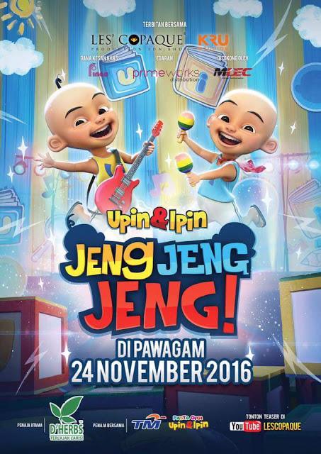 Upin Dan Ipin: Jeng Jeng Jeng (2016)