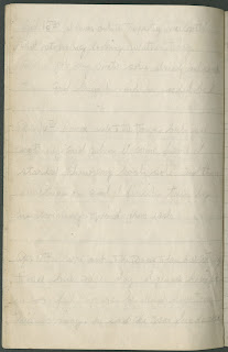 A page of faint, handwritten text.