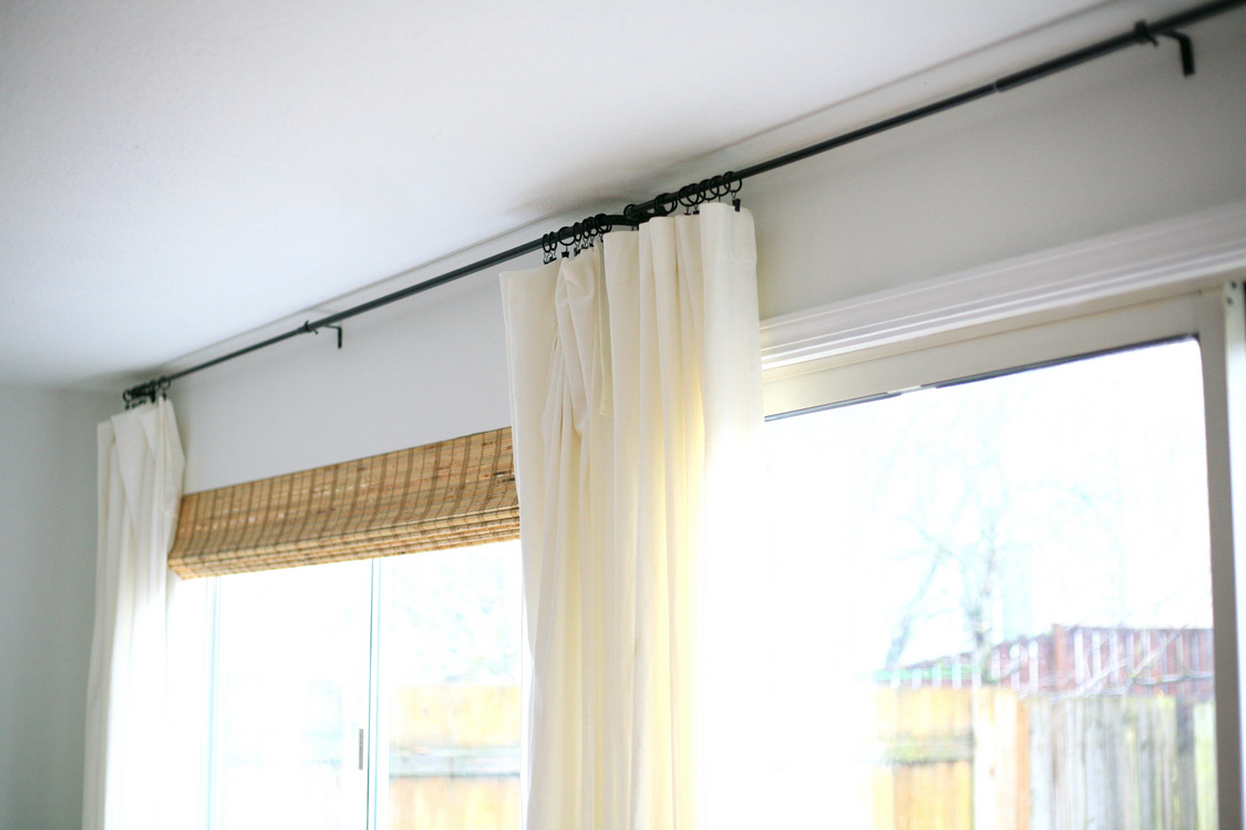 Curtain Rods Cover Simple Diy Decor Project How To Make