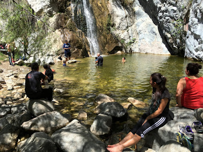 Fish Canyon Falls, April 16, 2016, Angeles National Forest