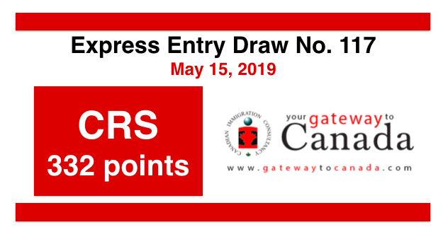 Express Entry Draw No. 117 (May 15, 2019): CRS Score 451 Points