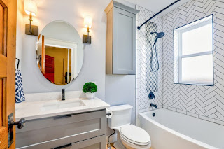 Able & Ready Construction can help you upgrade the bathroom lighting in your Prescott home.