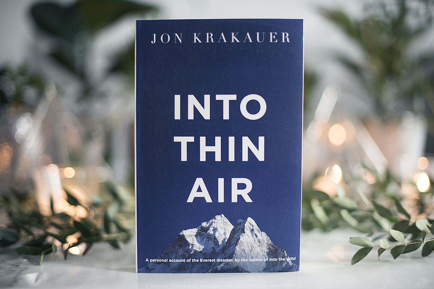 the mount everest tragedy in into thin air a book by jon krakauer Into thin air a personal account of the mount everest disaster (book) : krakauer, jon : a history of mount everest expedition is intertwined with the disastrous expedition the author was a part of, during which five members were killed by a hurricane-strength blizzard.