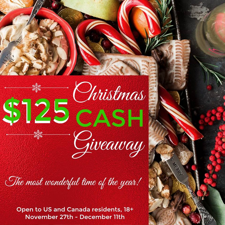 25 Days of Christmas Movies $125 Cash Giveaway