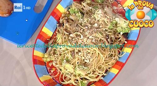 Spaghetti con verdure croccanti ricetta Shoda da Prova del Cuoco