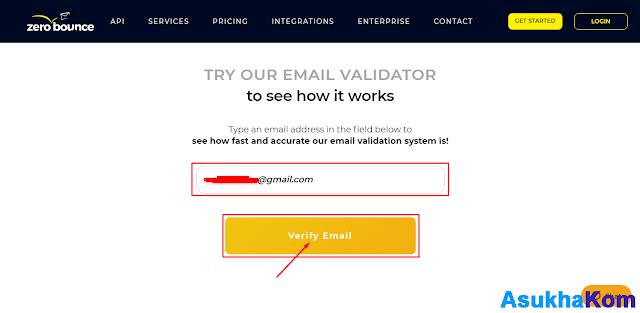Cara Cek Email yang Masih Aktif dengan Zerobounce.net