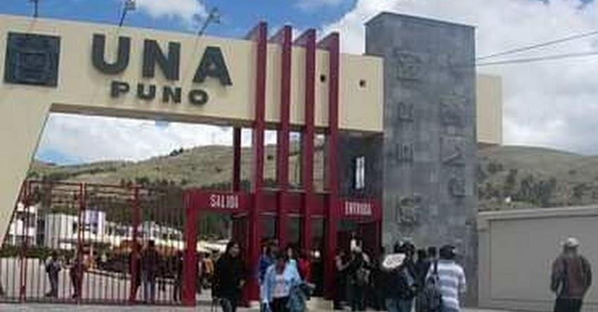 Examen de admisión en la UNA-PUNO aún no tiene fecha - UNAP