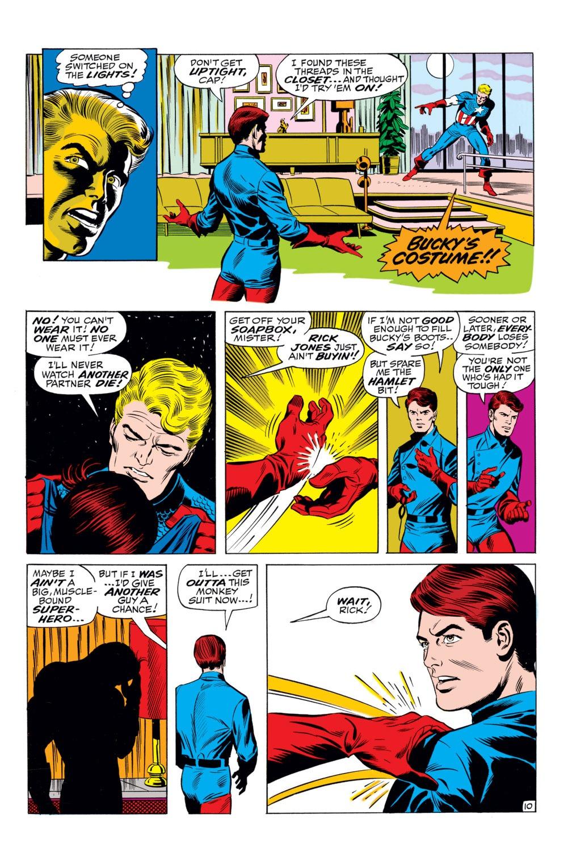 Read online Captain America (1968) comic -  Issue #110 - 11