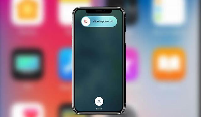كيفية اعادة تشغيل iPhone 8 Plus / iPhone 8 / iPhone X