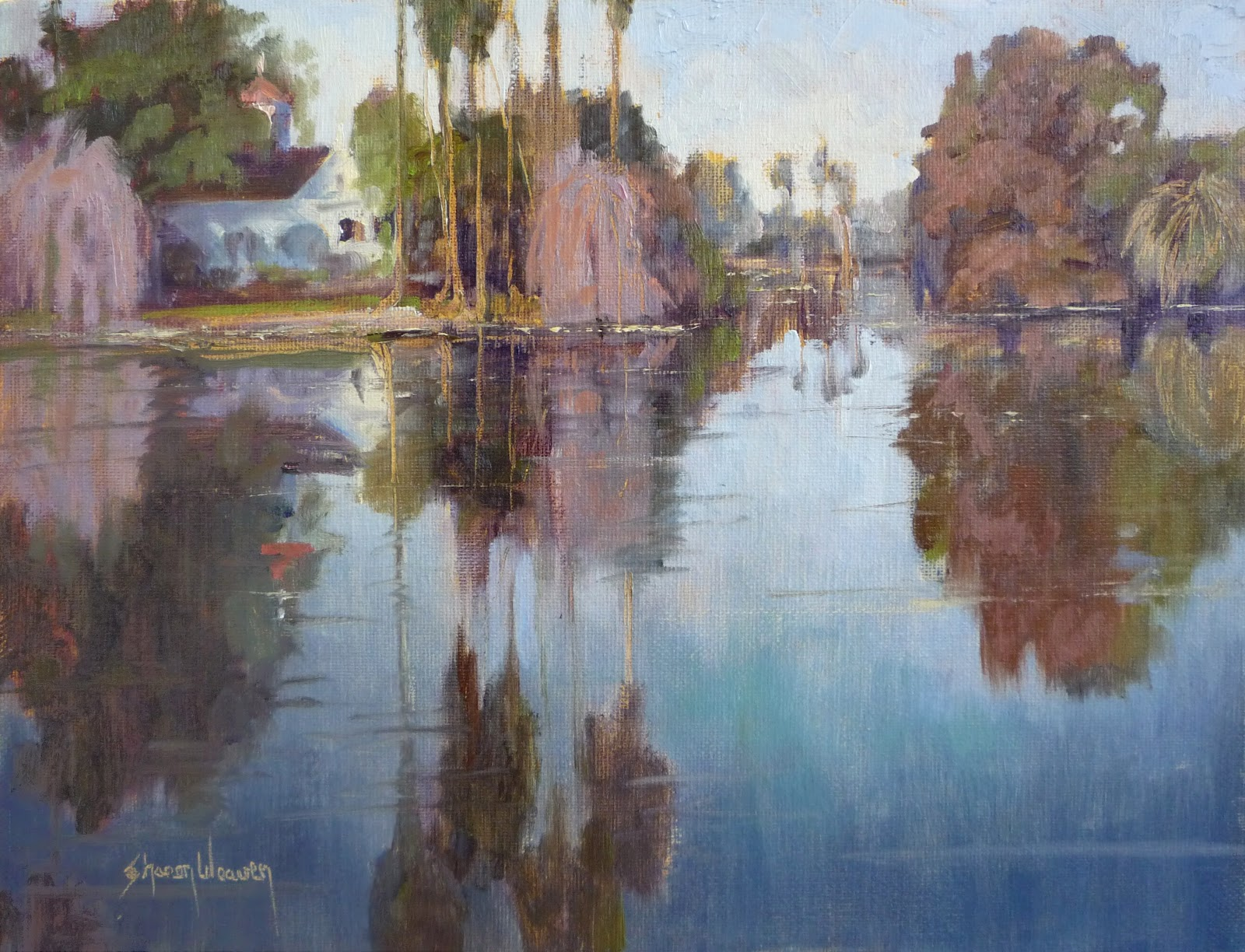 Reflections of an Artist: Sharon Weaver: How to Paint Water