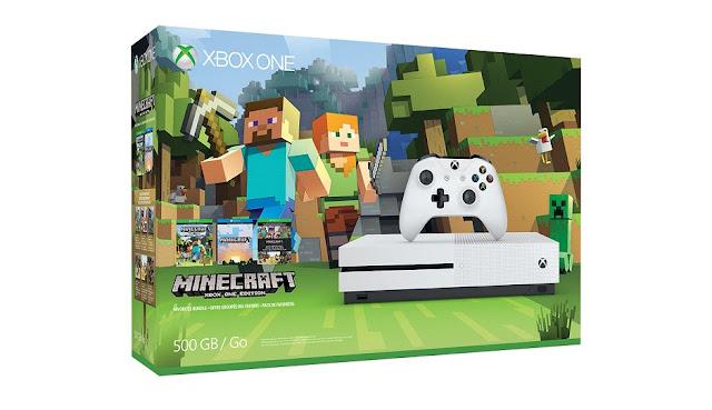 Se anuncia pack de Xbox One S con Minecraft para el 27 de octubre