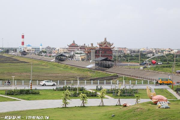 高美濕地濱海自行車道