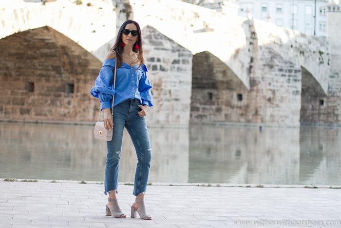 Inluencer blogger moda Valencia fotografias en el rio Turia