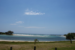 Nele  Andrew Around Oz Terrace Reserve Holiday Park