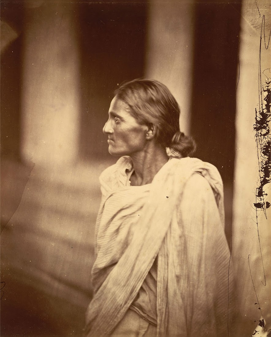 Portrait of an Woman - Eastern Bengal 1860's