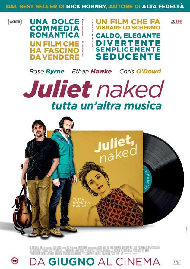Juliet Naked - Tutta un'altra musica: biglietti cinema gratis anteprima varie città