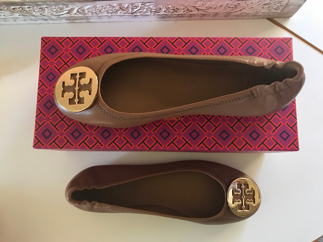 Tory Burch Minnie Flats, Royal Tan