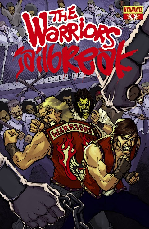 The Warriors Jailbreak Comic Book