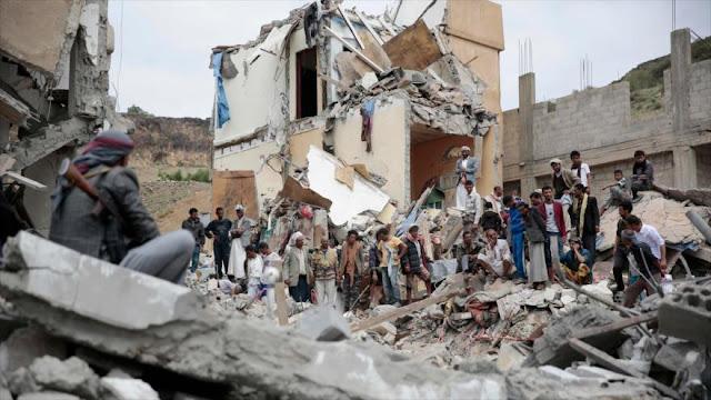 Nuevos bombardeos de Arabia Saudí dejan 51 muertos en Yemen
