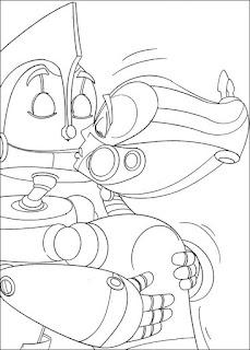 ausmalbilder roboter zum ausdrucken