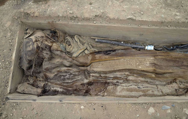 Remains of 19th century Chinese labourers found at ancient pyramid in Peru