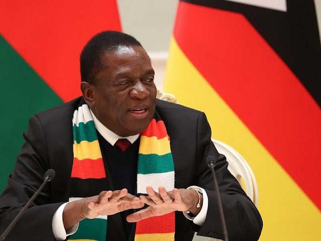 Zimbabweans Petition World Economic Forum Organizers to Block Emmerson Mnangagwa