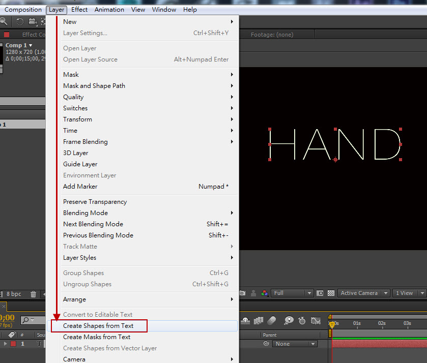 Hand line 02