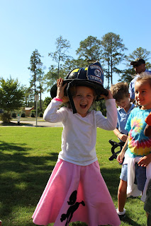 Catholic's K4 & K5 Class Gets a Special Lesson in Fire Safety 2